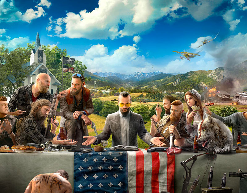 Far Cry 5 - Gold Edition (Xbox One), The Legend Of Gift, thelegendofgift.com