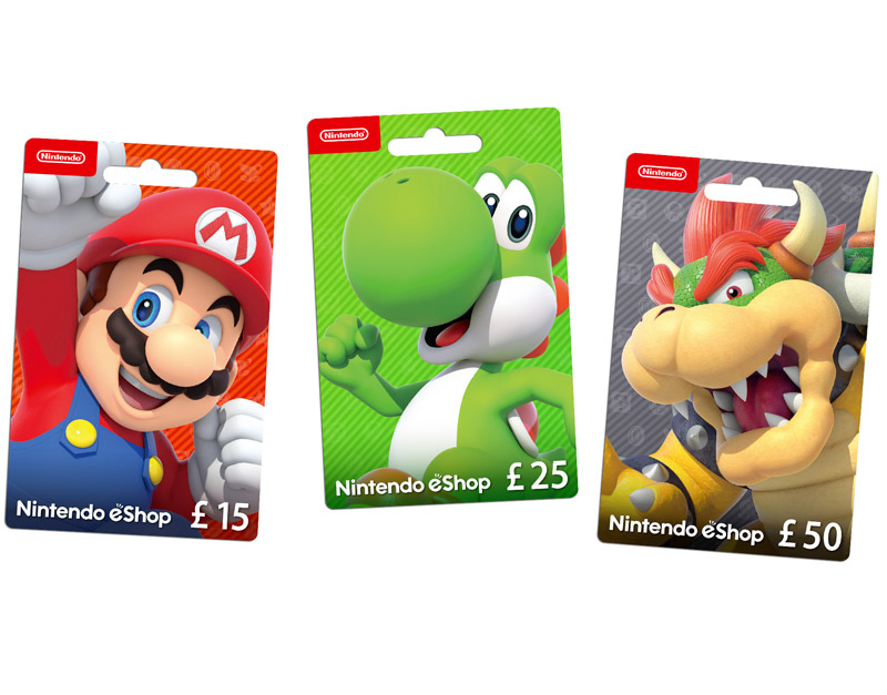 Nintendo eShop Gift Card, The Legend Of Gift, thelegendofgift.com