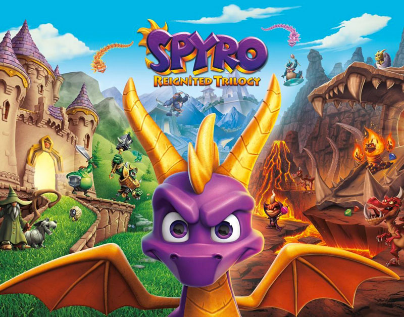 Spyro Reignited Trilogy (Xbox One), The Legend Of Gift, thelegendofgift.com